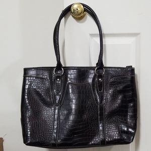 Tote with laptop sleeve